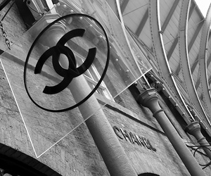 black and white, expensive, and chanel image