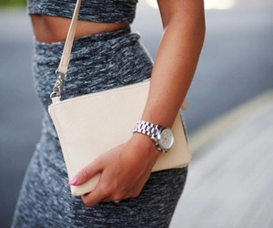 bag, classy, and outfit image