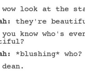 dean, dean winchester, and hannah image