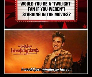 twilight, funny, and harry potter image