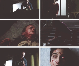 teen wolf, scott, and sheriff stilinski image