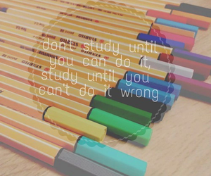 motivation, pens, and quote image