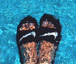 nike, water, and summer image