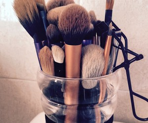 Brushes, chanel, and make up image