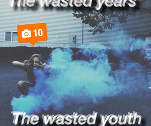 grunge, tumblr, and wasted image