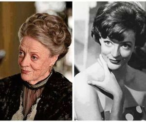 maggie smith and harry potter image