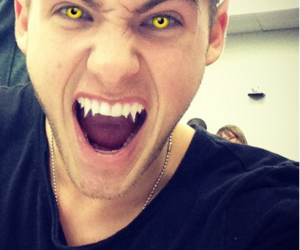 teen wolf, vampire, and cody christian image