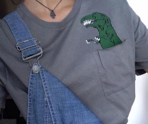 grunge, tumblr, and dinosaur image