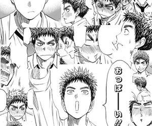 manga, kuroko no basket, and kasamatsu image