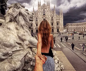couple, love, and milano image