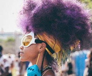 Afro, beauty, and afropunk image