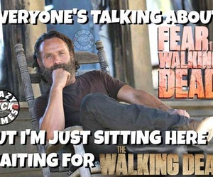 the walking dead, twd, and ftwd image