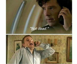 not dead and sherlock image