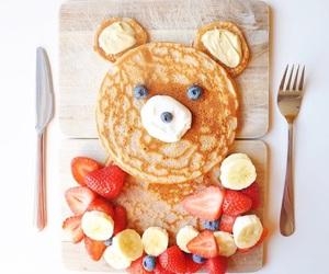 food, fruit, and bear image