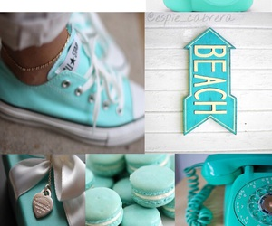 beach, converse, and dolphins image