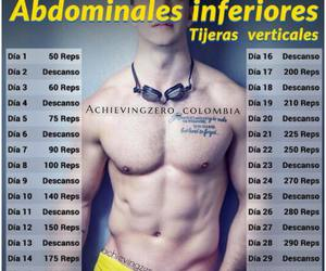 fitness, ejercicio, and saludable image