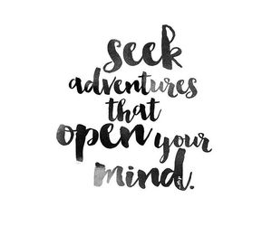 quote, adventure, and pretty image