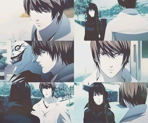 death note and light image