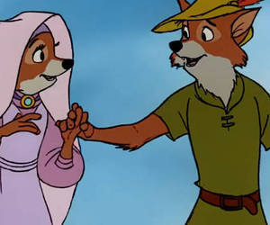 disney and robin hood image
