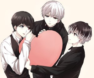boys, cute, and tokyo ghoul image