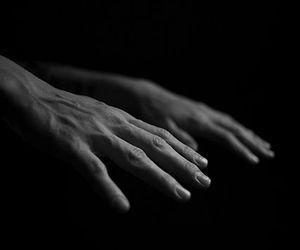 big, vains, and hand image