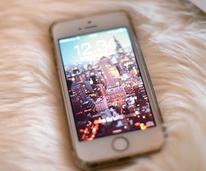 iphone, city, and apple image