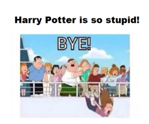 cartoons, funny, and harry potter image