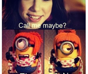 minions, funny, and call me maybe image