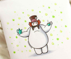 baymax, disney, and mad hatter image