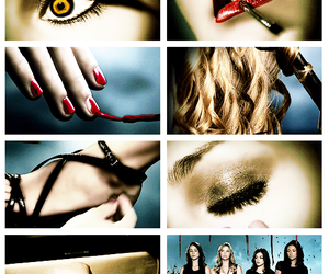 girls, pretty little liars, and love image
