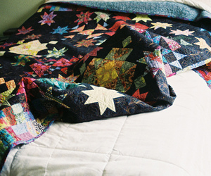 bed, blanket, and photography image