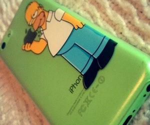 case, iphone, and simpson image