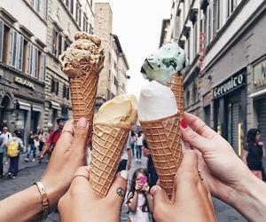 dessert, ice cream, and nails image