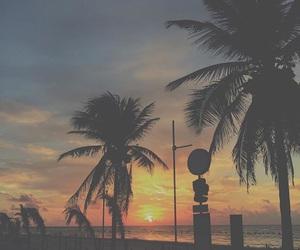 atardecer, beach, and costa image