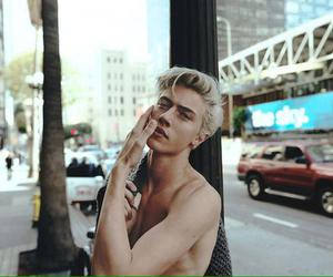beauty, model, and lucky blue smith image