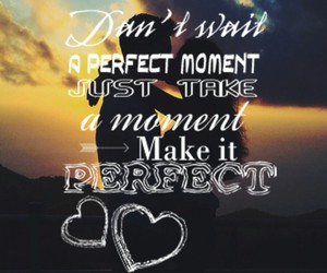 couple, perfect moment, and don't wait image