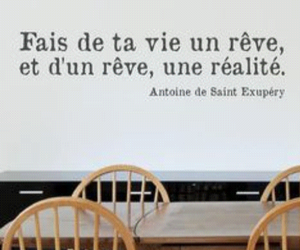 french and quote. image