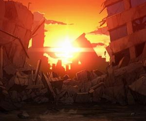 apocalypse, art, and city image