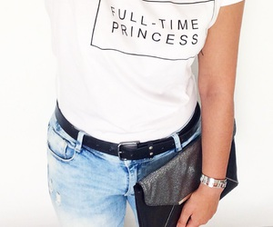 boyfriend, jeans, and princess image