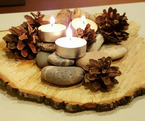 candle, cosy, and diy image