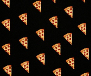 pizza and 5sos image