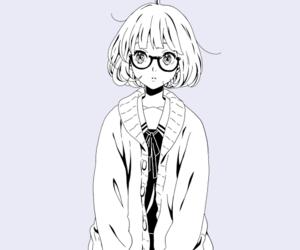 anime, kyoukai no kanata, and kuriyama mirai image
