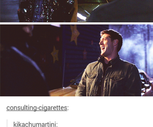 supernatural and tumblr image