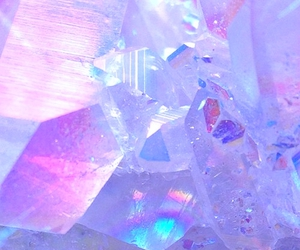 crystal, aesthetic, and pastel image