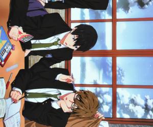 free!, anime, and nagisa image