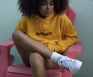 yellow, adidas, and aesthetic image