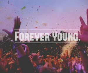 forever, party, and young image