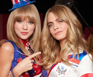 Taylor Swift, cara delevingne, and beautiful image