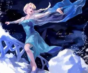disney princess, frozen, and let it go image