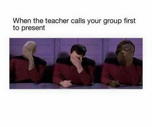 funny, school, and group image